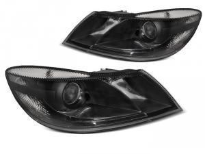 Skoda Octavia II (facelift) přední světla-Black.