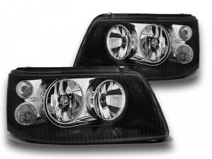 VW T5 přední světla-Black.