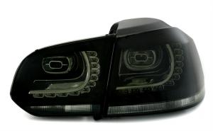 VW Golf 6 - zadní LED světla BLACK.