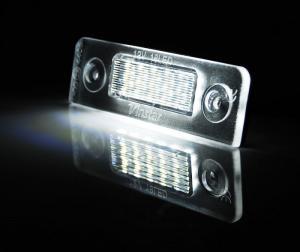 LED osvětlení SPZ-Škoda Roomster.