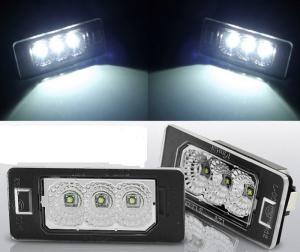 BMW E60 - led osvětlení spz.
