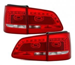 VW Touran 2 - zadní LED světla.