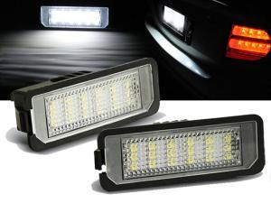 LED osvětlení SPZ-VW Polo.