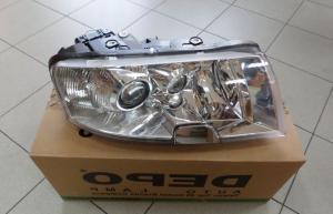 Škoda Superb - přední světlo H3+H3+H7 (Pravé)