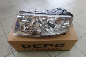 Škoda Superb - přední světlo D2S+H3 (Levé)