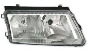 VW Passat B5 přední světlo s mlhovkou-Pravé.