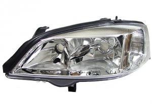 Opel Astra G přední světlo-Chrom-Levé