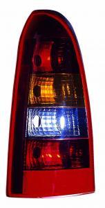 Opel Astra G Caravan zadní světlo Red/Smoke-Pravé.