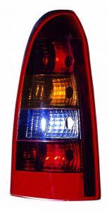 Opel Astra G Caravan zadní světlo Red/Smoke-Levé.