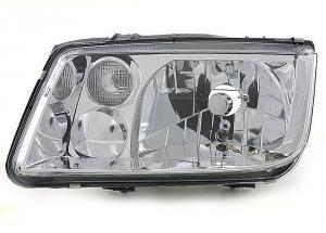 VW Bora přední levé světlo - Chrom.