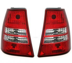 VW Bora Variant -  zadní crystal světla Red/White.