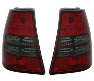 VW Bora Variant -  zadní crystal světla Red/Smoke.
