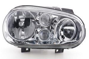 VW Golf 4 přední světlo s mlhovkou - Pravé