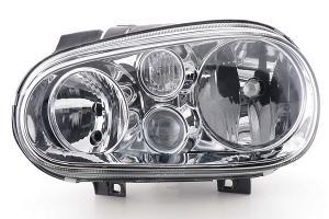 VW Golf 4 přední světlo s mlhovkou - Levé