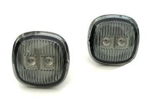 Škoda Fabia boční LED blikače-Kouřové.