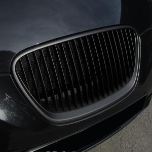Seat Leon (facelift) přední maska bez znaku - Black.