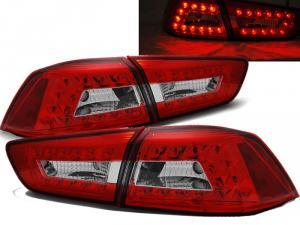 MITSUBISHI LANCER EVO 10 - zadní LED světla Red/White.