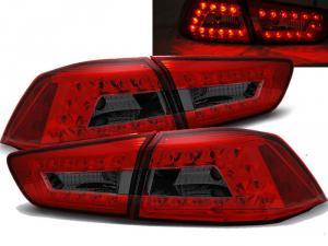MITSUBISHI LANCER EVO 10 - zadní LED světla Red/Smoke.