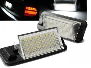 BMW E36 - LED osvětlení SPZ.