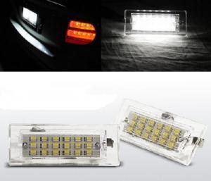 BMW X5 (E53) led osvětlení spz.