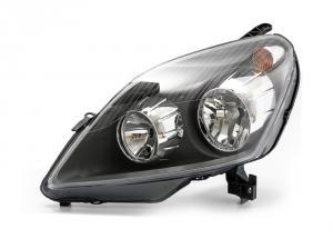 Opel Zafira B přední světlo - black - levé.
