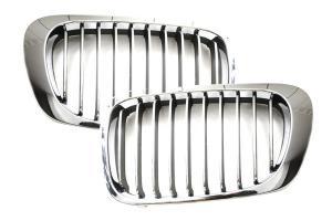 BMW E46 04/99-03/03. Maska - Chrom. Coupe/Cabrio.