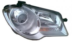 VW Touran přední světlo - Pravé.