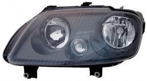 VW Touran přední světlo - Black - Levé.