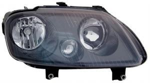 VW Touran přední světlo - Black - Pravé.