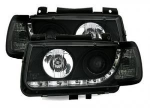 VW Polo přední světla DAYLINE-Black