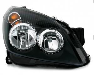 Opel Astra přední světla - Black.