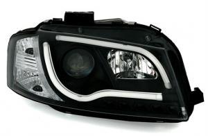 Audi A3 přední světla DAYLINE - Black.