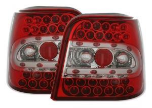 VW Golf IV zadní LED světla-Červená.