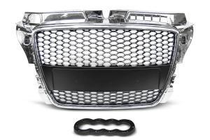 Audi A3 přední maska bez znaku - Chrom.