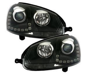 VW Golf 5 přední světa Day Line - Black.