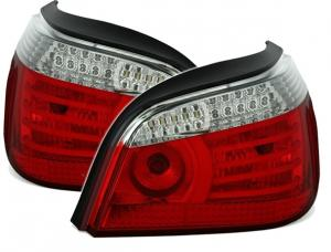 BMW E60 zadní LED světla RedWhite.