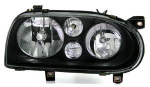 VW Golf 3 přední světla-Black.