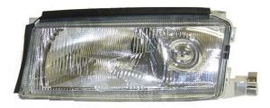 Škoda Octavia přední světlo-bez mlhovky-levé.