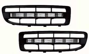 Škoda Octavia (facelift) LED světla pro denní svícení.