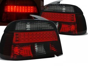 BMW E39 zadní LED crystal světla - Red/Smoke.