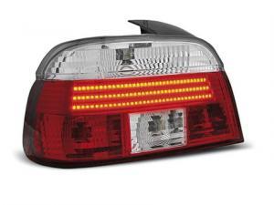 BMW E39 zadní LED světla Red/White.