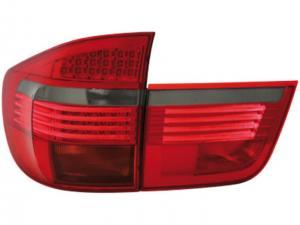 BMW X5 zadní LED světla - Red/Smoke.