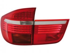BMW X5 zadní LED světla - Red/White.