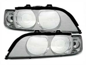 BMW E39 přední kryty světla - Chrom.