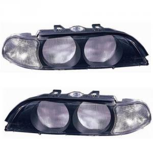 BMW E39 přední kryty světla - Black.