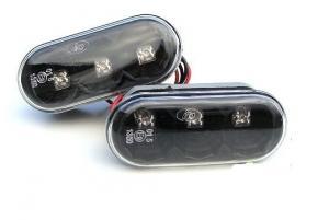 Boční LED Blikače - Black