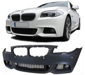 NÁRAZNÍK PŘEDNÍ -  M-TECHNIK BMW 5 F10/F11 PDC.