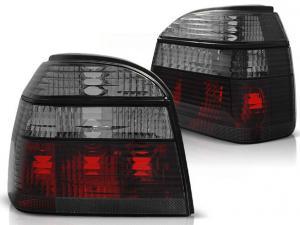 VW Golf 3 zadní crystal světla-Red/Smoke.