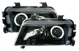 Audi A4 přední světla-Black.