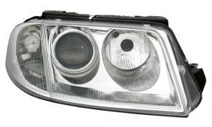 VW Passat B5.5 (3BG) přední světlo s El.motorkem-Pravé.